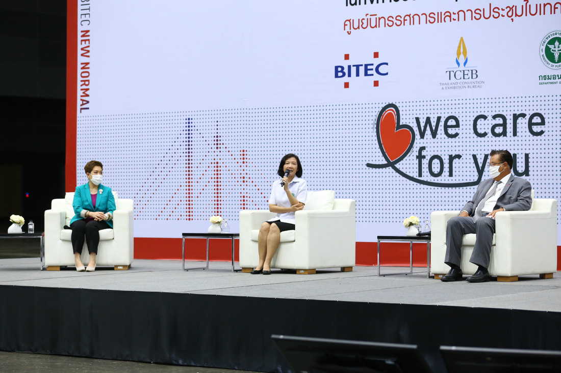 Thai Ministry of Public Health, TCEB and BITEC representatives